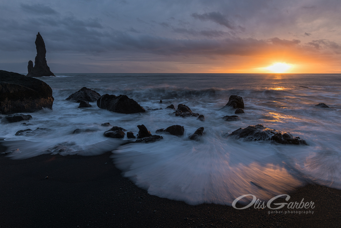 Reynisdrangar Sunset