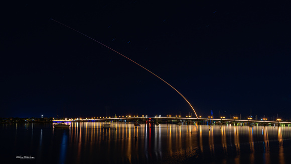 SpaceX above Lions